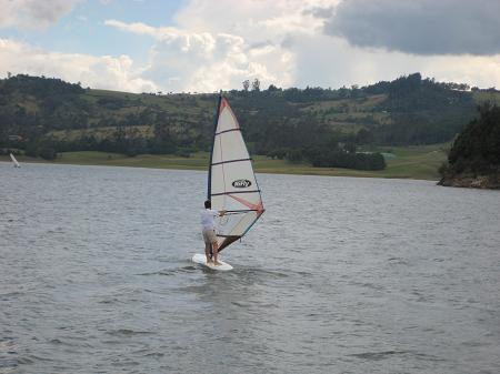 Windsurf en el Sisga