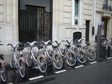 Bicicletas en Paris