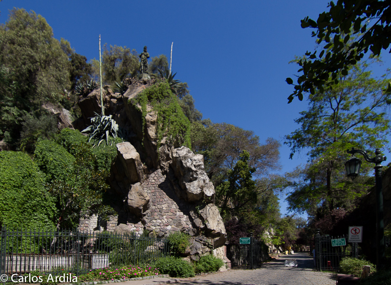 Cerro Santa Lucia, Santiago de Chile